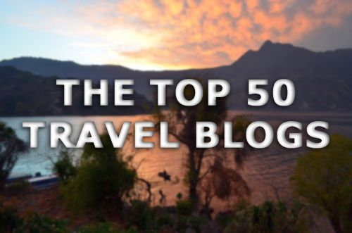 GoNOMAD is Number 2!  The Top 50 Travel Blogs on http://www.theexpeditioner.com