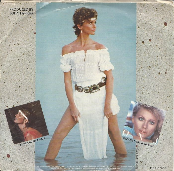 Olivia Newton-John - Make A Move On Me / Falling - MCA - USA ...45