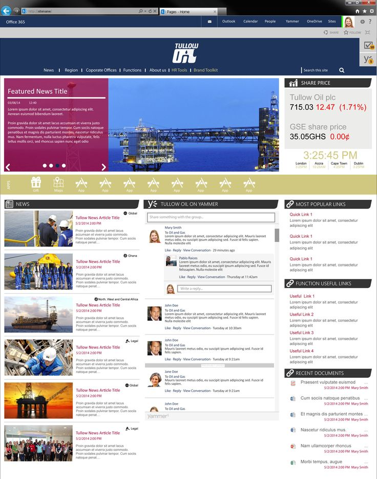 62 best intranet designs images on pinterest