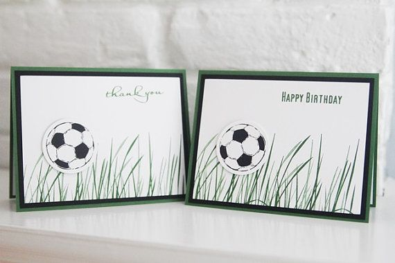 Happy Birthday Soccer Card Birthday Wishes by LaurasPaperCreations