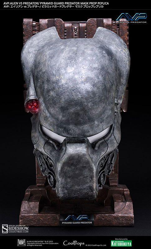 Pré-Encomenda:  Alien vs. Predator Replica 1/1 Pyramid Guard Mask  Para mais informações clica no seguinte link: http://buff.ly/1m84r5K  #ToyArt #CoolProps #Alien #Predator #AVP