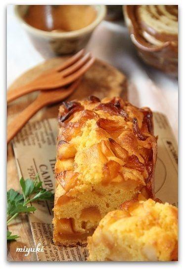 りんごのキャラメル パウンドケーキ by miyukiさん | レシピブログ ...