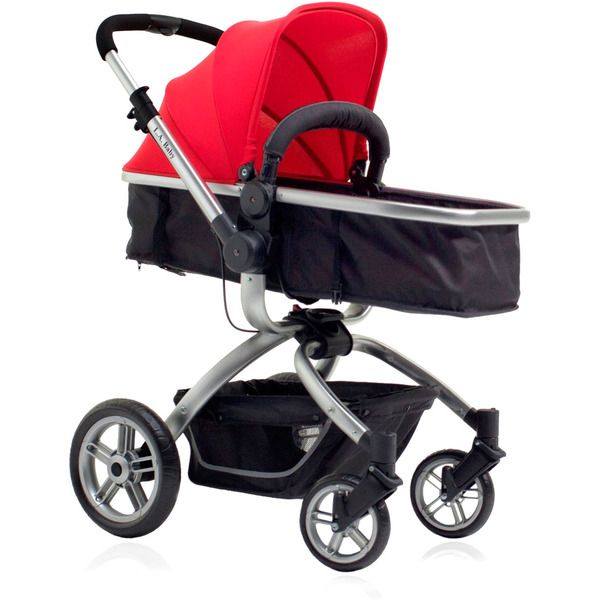 L.A. Baby Red/ Black Red Oak Street Stroller - Overstock Shopping - Big Discounts on LA Baby Strollers
