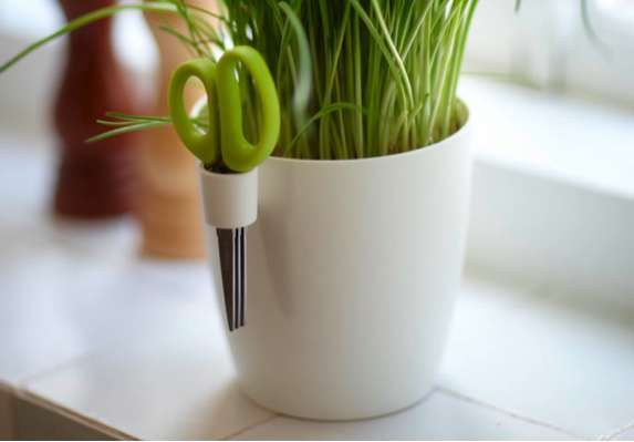 BRUSSELS HERBS PLANTERS    A great deal of simple tasks and pleasures are avoided when the means to carrying them out are less than convenient, but these clever Brussels Herbs planters provide just what you need to maintain a working kitchen garden.