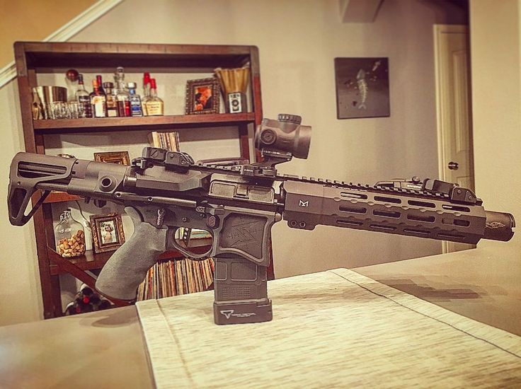 .300 Blackout, Seekins Precisions Upper & Lower, Maxim Defense Stock, Trijicon MRO Optic with LaRue Mount, Midwest Industries Handguard, Noveske Flaming Pig Flash Hider, .300 Blackout