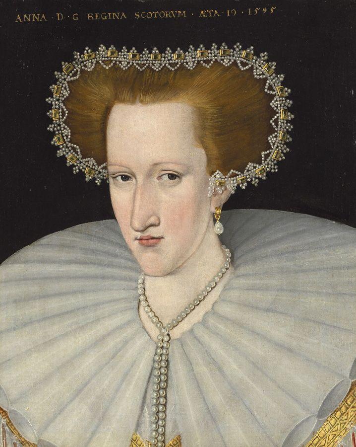 Adrian Vanson, Anne of Denmark as Queen of Scotland 1595. From http://www.historicalportraits.com/Gallery.asp?Page=Item&ItemID=1264&Desc=Anne-of-Denmark-%7C-Adrian-Vanson