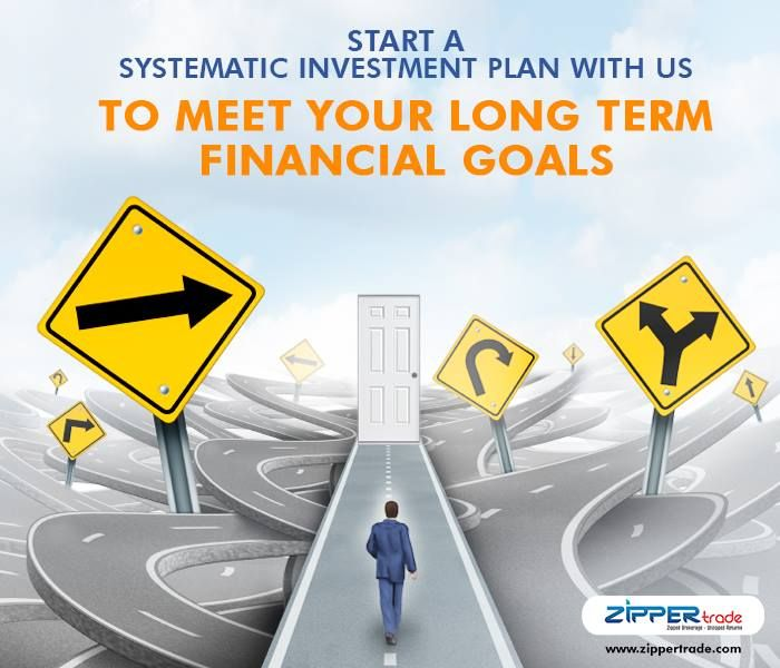 Start a Systematic Investment Plan with us to meet your long term financial goals.