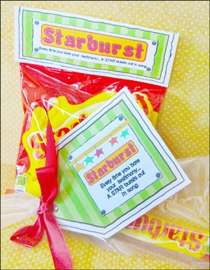 Creative Customer Appreciation Sayings With Candy | just b ...