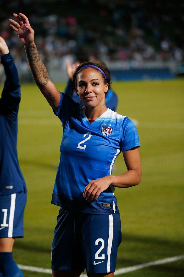 I got Sydney Leroux! Are You More Alex Morgan Or Sydney Leroux?