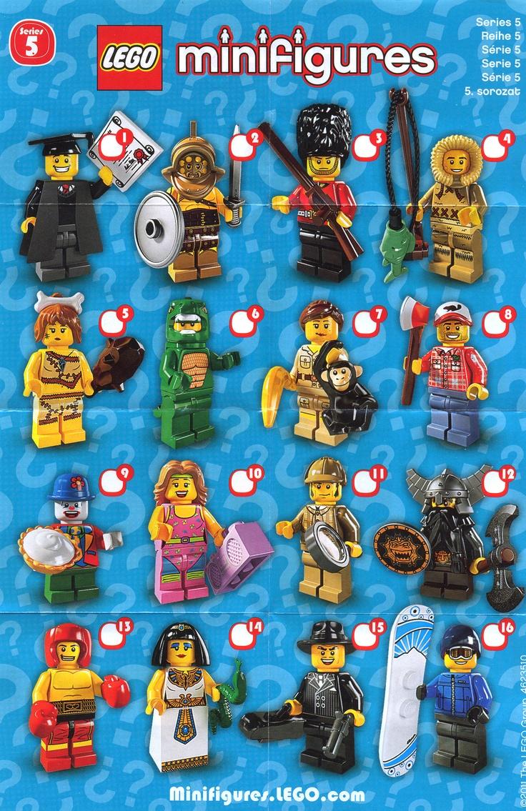 lego minifigures series 5