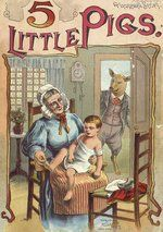 Miniature books for the dollhouse library, nursery etc. This library has scads of vintage & antique books with front and back cover and inside pages. Can be viewed using full size or thumbnail size. Baldwin Library - children's literature