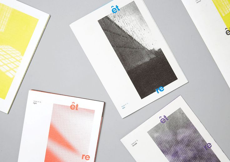 """Check out this @Behance project: """"être, issues n°. 1-4"""" https://www.behance.net/gallery/48261237/etre-issues-n-1-4"""