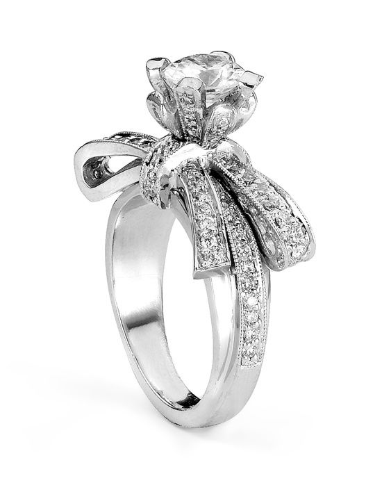 Best 25 Bow engagement rings ideas on Pinterest