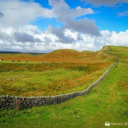 Walking the Hadrian's Wall Path, Northumberland National Park