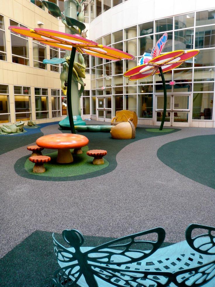 Decora el patio de la escuela con una temática. En este original diseño del…