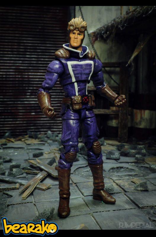 Cannonball (Marvel Universe) Custom Action Figure