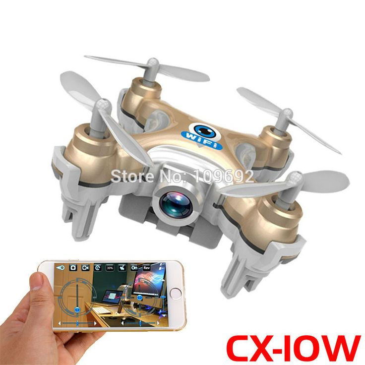 RC Drone MINI WIFI FPV Quadcopter 6 Axis 24G 4CH With 03MP HD