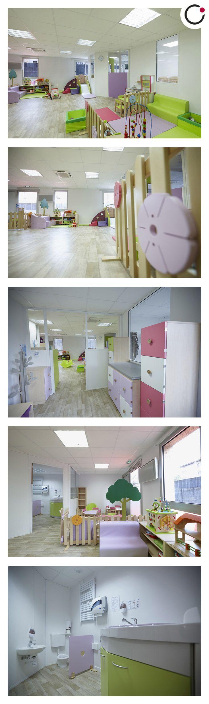 Projet Du0027Architecture Du0027Intérieur Pour Une Crèche à Annecy. Aménagement Du0027