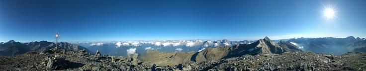 Panorama vom grossen Moosstock #Ahrntal #Suedtirol