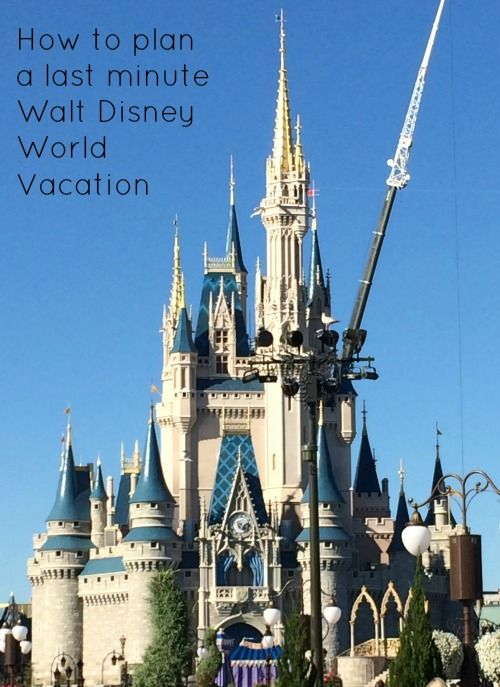 While many Walt Disney World guests meticulously plan every detail of a vacation months in advance, visitors who plan a last-minute trip can have just as much fun too! Find out how one family planned a magical and successful visit with just a few weeks' notice.