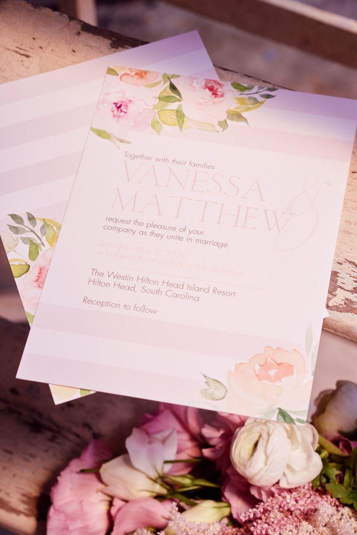 Coral Wedding Invitations From Invitations By Davidu0027s Bridal