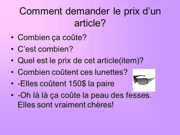 Z życia wzięte #1 - Pytanie o cenę - słownictwo 4 - Francuski przy kawie