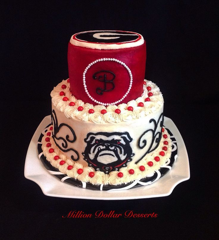 georgia bulldog cupcakes 28 best georgia bulldogs weddings images on pinterest 672