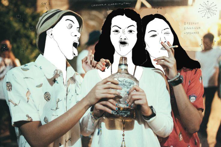 #SalvadorDali #FridaKahlo #Tribute #Artwork #CIY #Surrealism