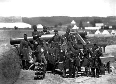 union artillery - mathew brady