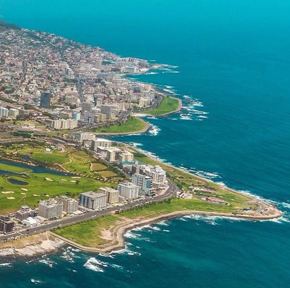 "Check out more sweet pics like these, who made them, and the stories behind them: instagram.com/capetownmag. Are you on Instagram? Tag one of your great pics with#CapeTownMag and we might just feature your image. The picture of the week for the winning #capetownmag feature!  ""Sea front properties & reclaimed land. Sometimes I wonder if the sea will try and reclaim what is his? Aerial views of Moulle Point & Greenpoint Park thanks to @nachelicopters, I just love seeing my city from the sky."
