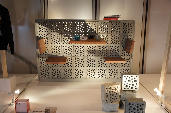 "平良玄峰/OKINAWA BLOCK LSD design co., ltd. ""OKINAWA BLOCK""/2012/ornamental block/product design"