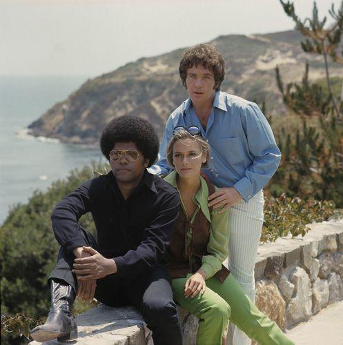 """The Mod Squad"" Clarence Williams III, Peggy Lipton, Michael Cole"