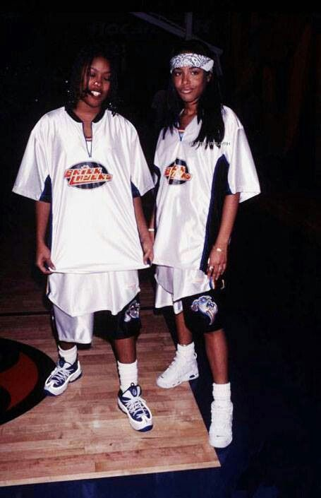 Da' Brat and Aaliyah