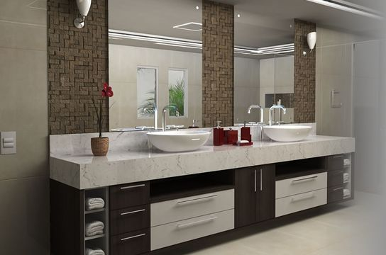 Banheiros Decorados Com Duas Cubas : Arm?rios e gabinetes para banheiro cuba