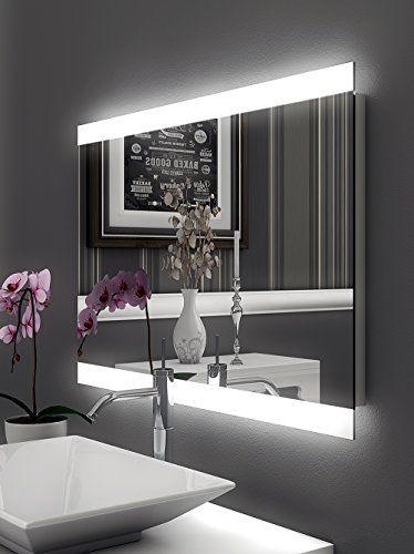 Inspirational Bricode S d Badspiegel mit LED Beleuchtung Wandspiegel Persis A xcm warmwei