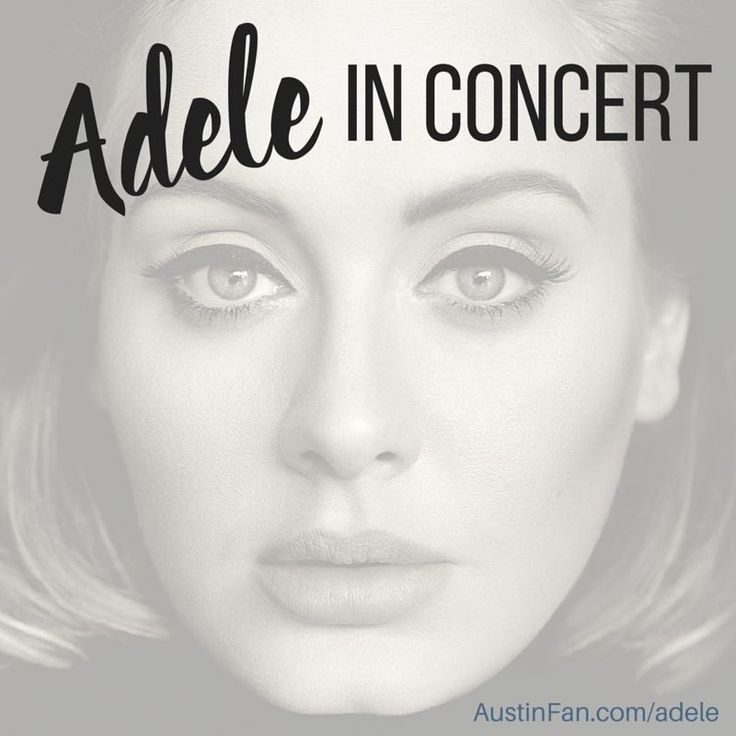 Adele TOUR DATES include Austin TX! Actually for Adele's 2016 Concert Tour she'll be in several Texas cities. Dallas, Austin and Houston. We love you right back Adele! Adele Austin TICKETS here >> ADELE Austin Tickets  USE Special Promo Code (TNTIX) $10 off $300+ order It really is crazy how fast Adele tickets are …