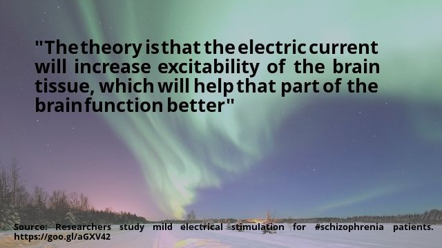 nice #quote Researchers study mild electrical stimulation for #schizophrenia patients Check more at http://boxroundup.com/quotation/quote-researchers-study-mild-electrical-stimulation-for-schizophrenia-patients/