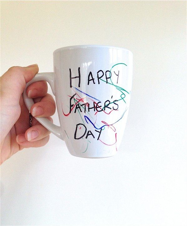 Make your own personalised mugs this Father's Day! - Toby and Roo