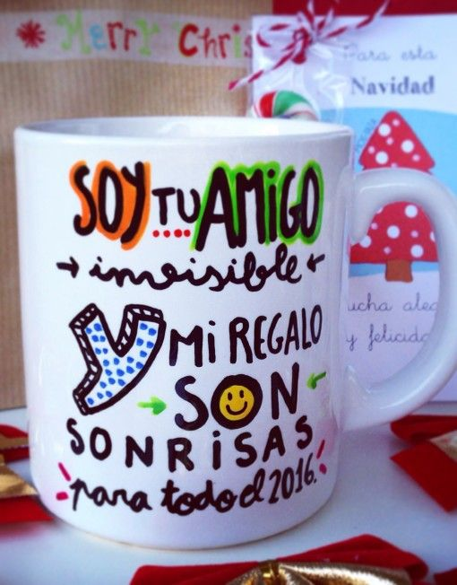 Regalo perfecto para el AMIGO INVISIBLE