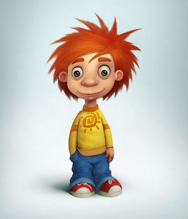 Design A Cartoon Character : Best images about d characters on pinterest digital