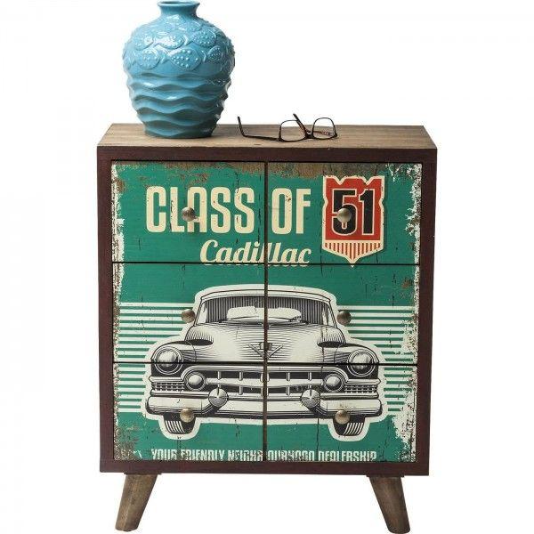 cajonera vintage Garage Style 6 | Tiendas On