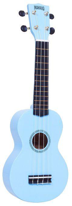 Amazon.com: Mahalo Ukuleles MR1BU Rainbow Series Soprano Ukulele: Musical Instruments