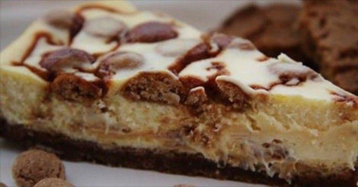 Als je van cheesecake houdt dan is dit een perfect recept voor jou! Deze cheesecake is speciaal voor sinterklaasavond omdat er pepernoten, witte chocolade en zoute karamel in zit. Heerlijk! Dus snel de keuken in en maak dit voor het heerlijke avondje!..