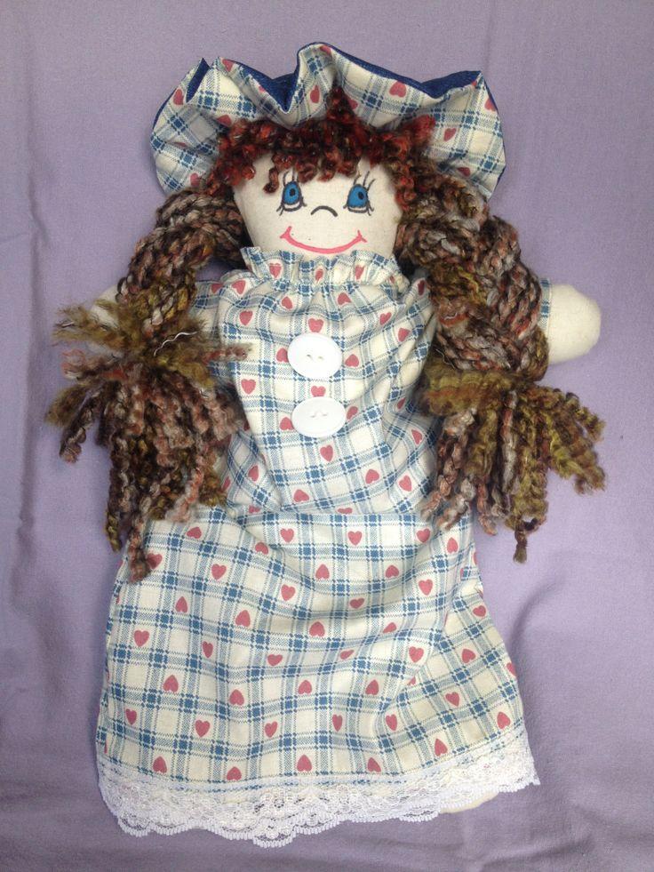 JenDoll #5 Handmade Rag, Cloth Doll by JenDolls on Etsy