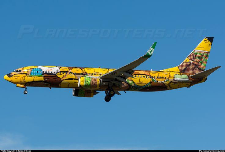 PR-GUO GOL Transportes Aéreos Boeing 737-8EH(WL)