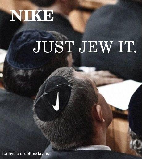 Nike Just Do It Funny Jewish Humor