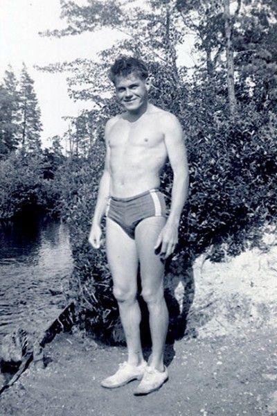Swim trunks in 1940