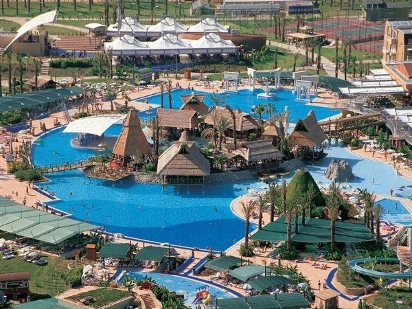 Pegasos World in Side, Turkey. 107.000 sq ft pool!