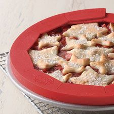 Pie crust shield: Will be great to use during Thanksgiving so the crust doesn't get too dark.