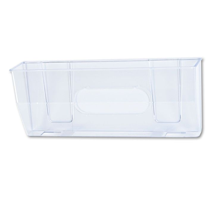 deflecto Oversized Magnetic Wall File Pocket Legal/Letter Clear